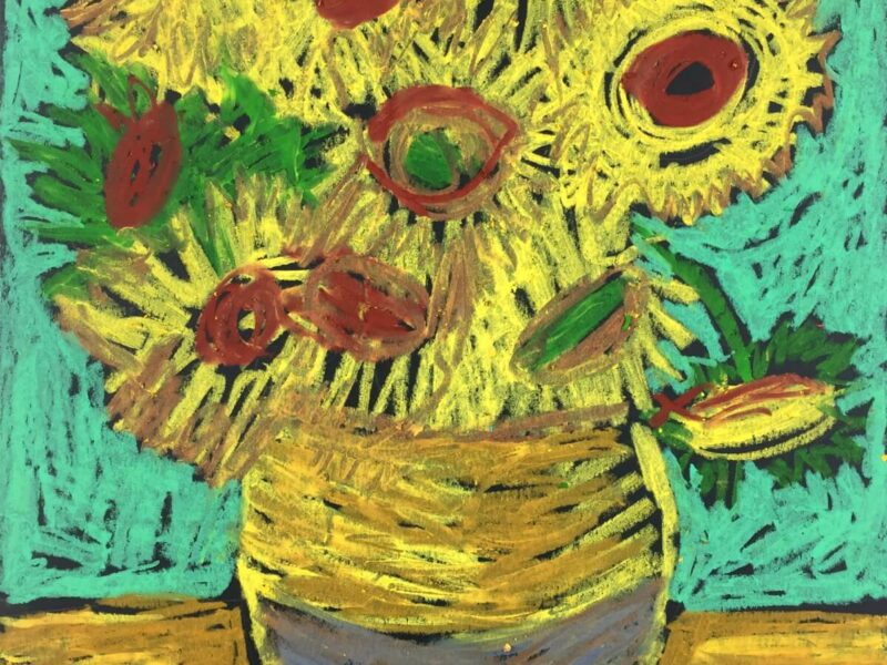 Van Gogh Meets Oil Pastels Make A Van Gogh Oil Pastel
