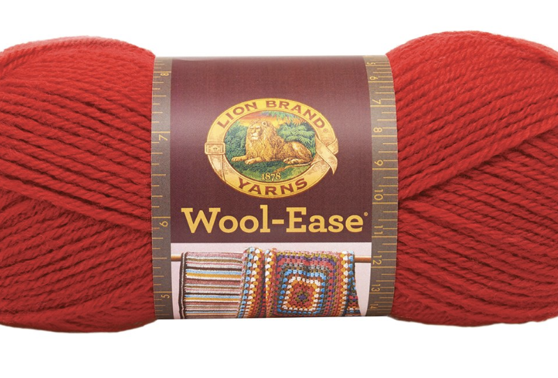 lion brand wool ease yarn