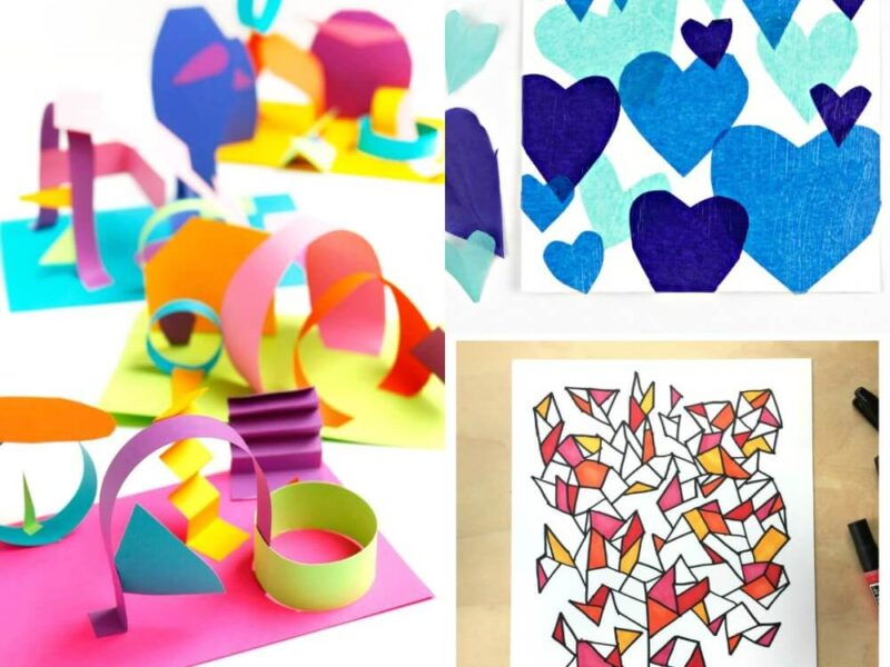 11 Easy Kid Art Projects You Ll Want To Make Too Craftwhack