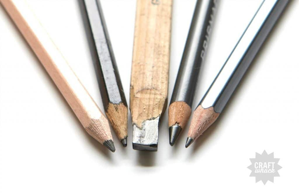 drawing pencil points