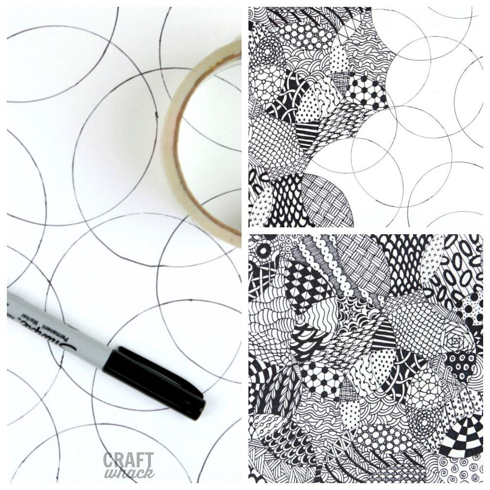 Zentangle art idea