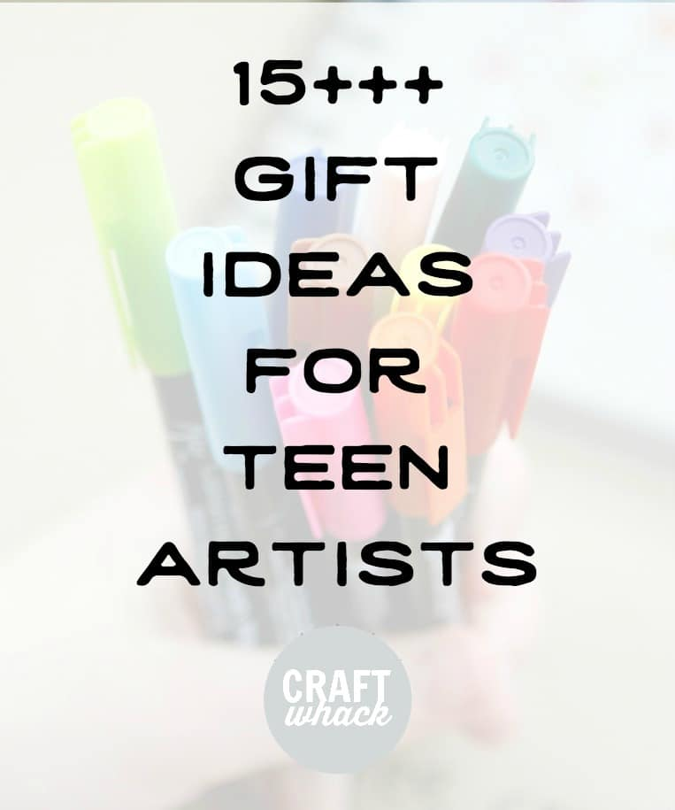 gift ideas for teen artists