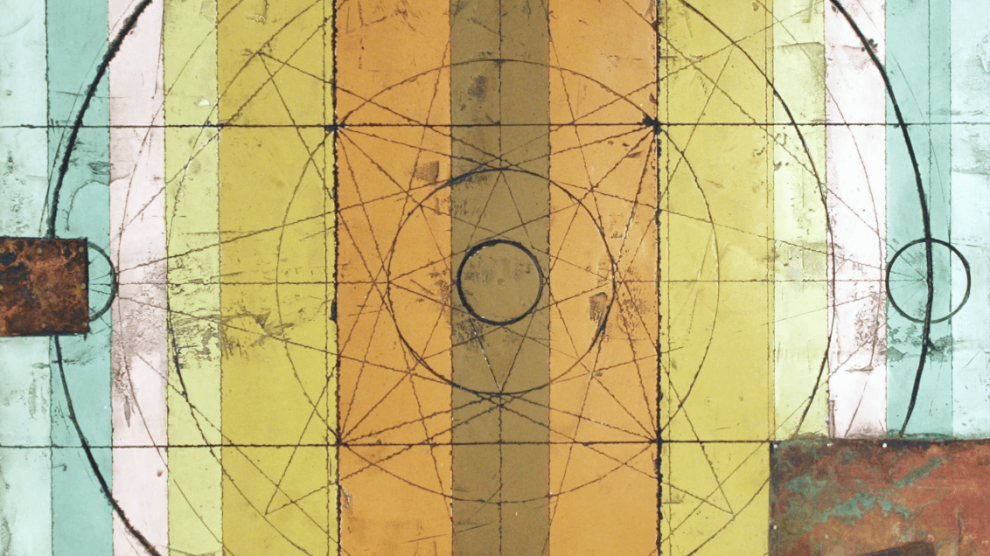 Compass II Collage by Curtis Olson