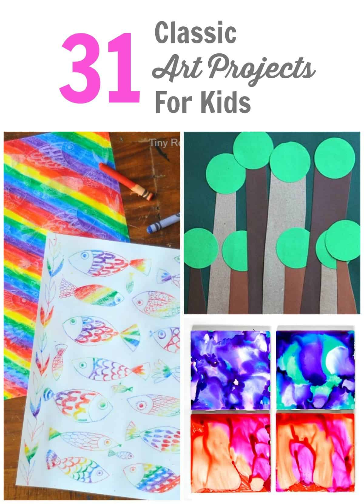 31 Classic Art Projects for Kids
