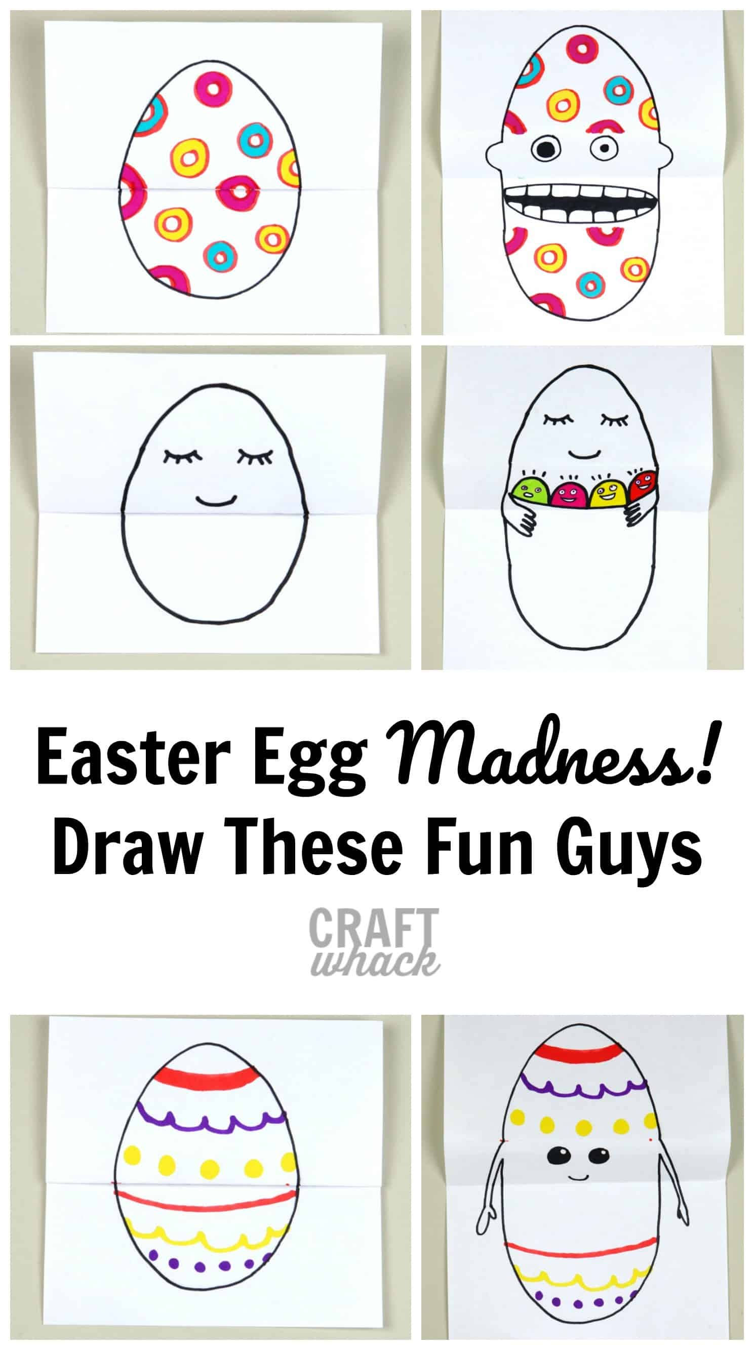 easter egg drawing
