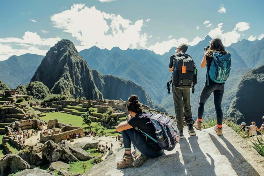 Teens in Peru on a photography trip with National Geographic