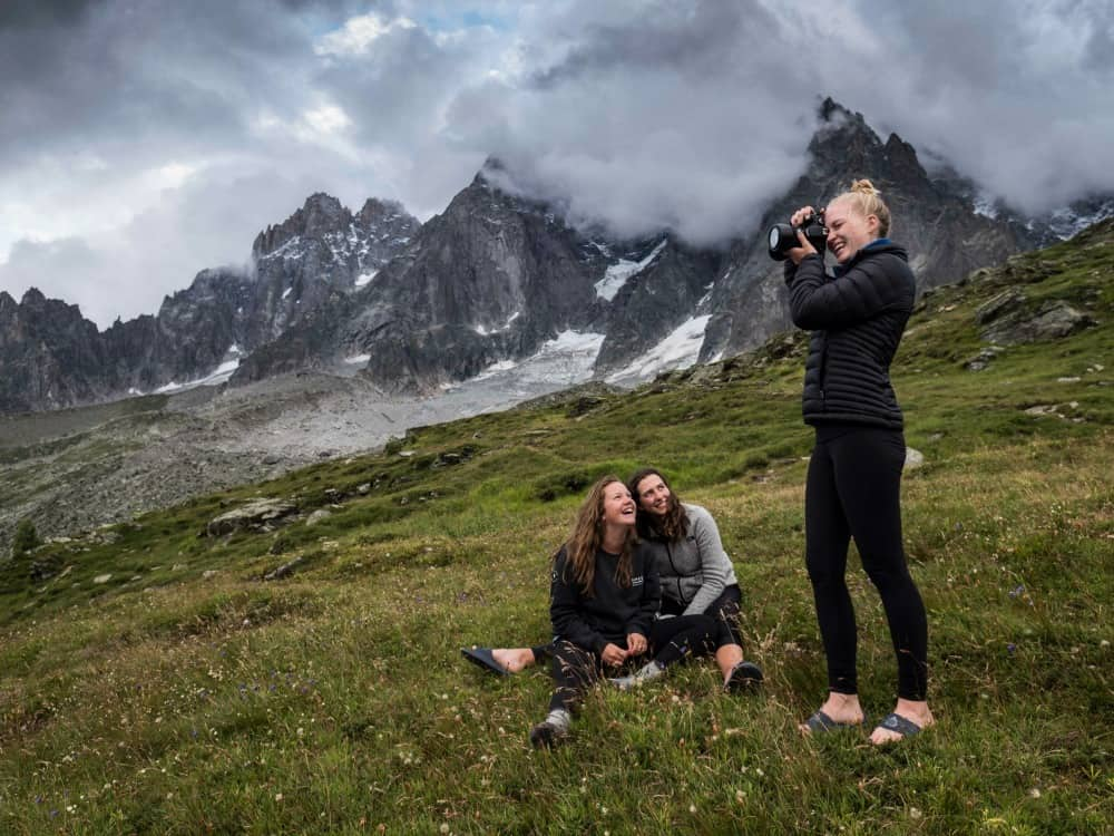 Teenagers on a photography trip with National Geographic