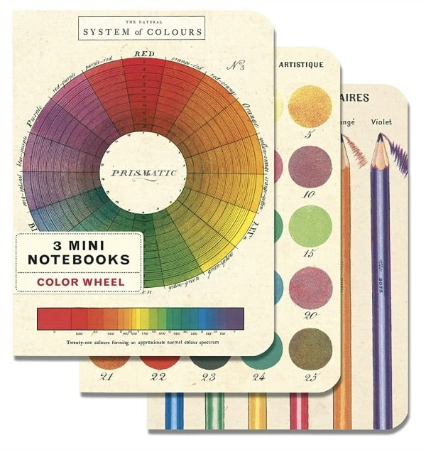 colorwheel small notebooks