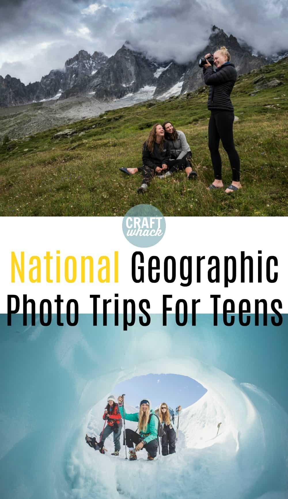 teen photographers on National Geographic expeditions