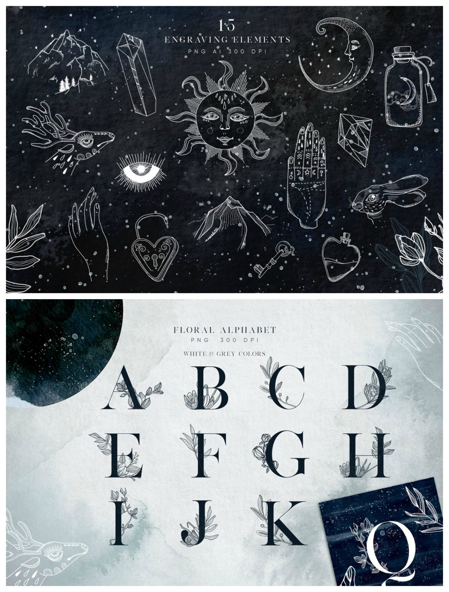 occult graphics pack