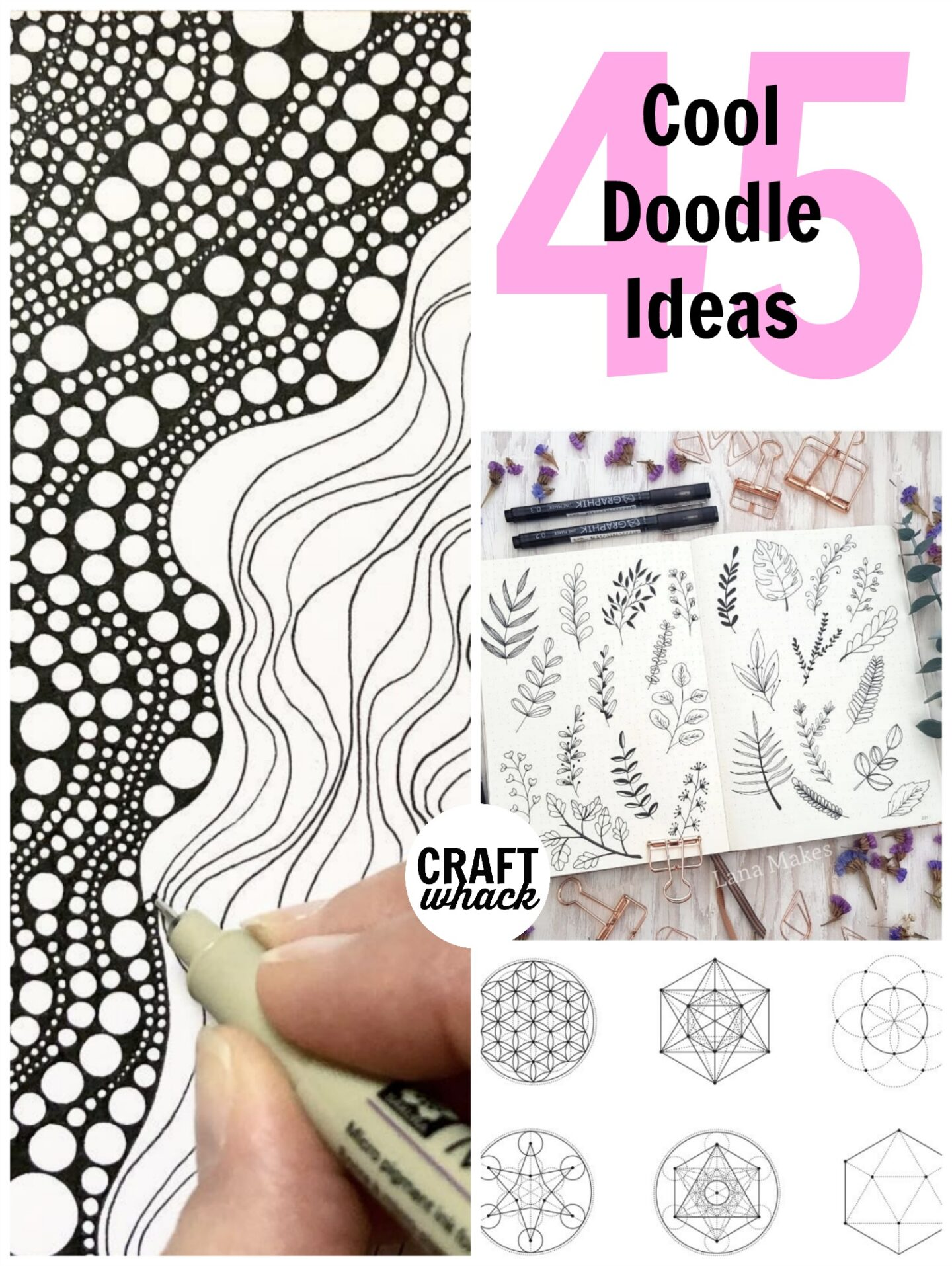 45 Super Cool Doodle Ideas Craftwhack