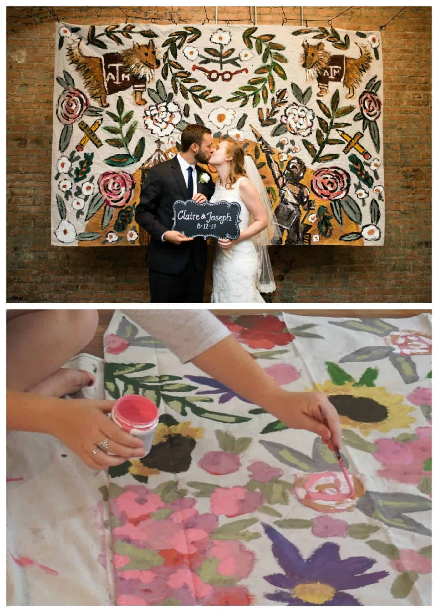 hand painted photo backdrops