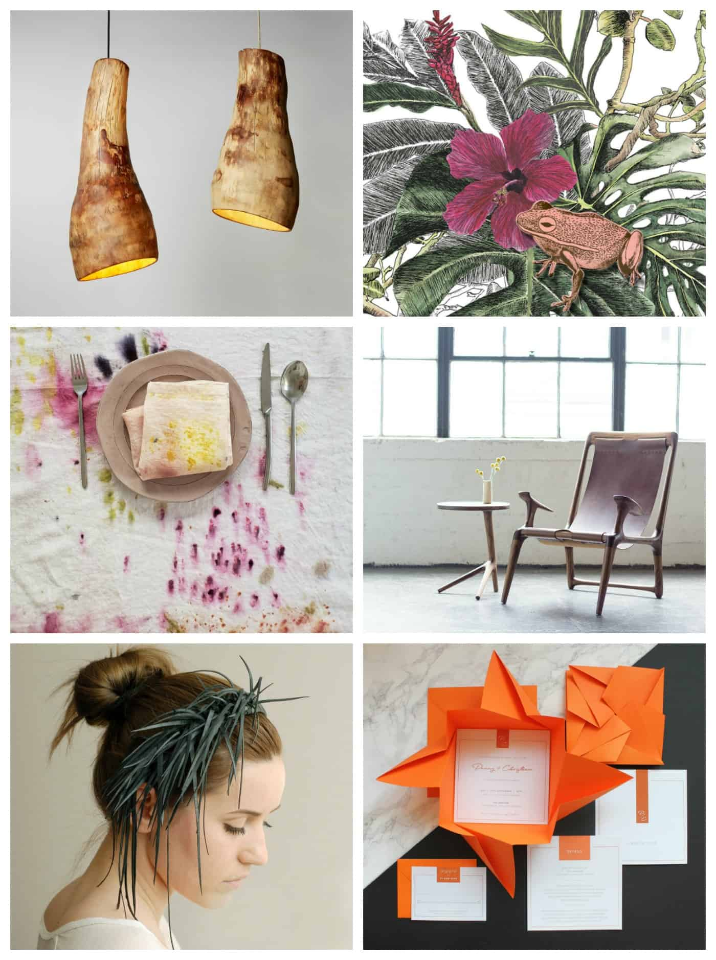 handmade items from The Etsy design competition