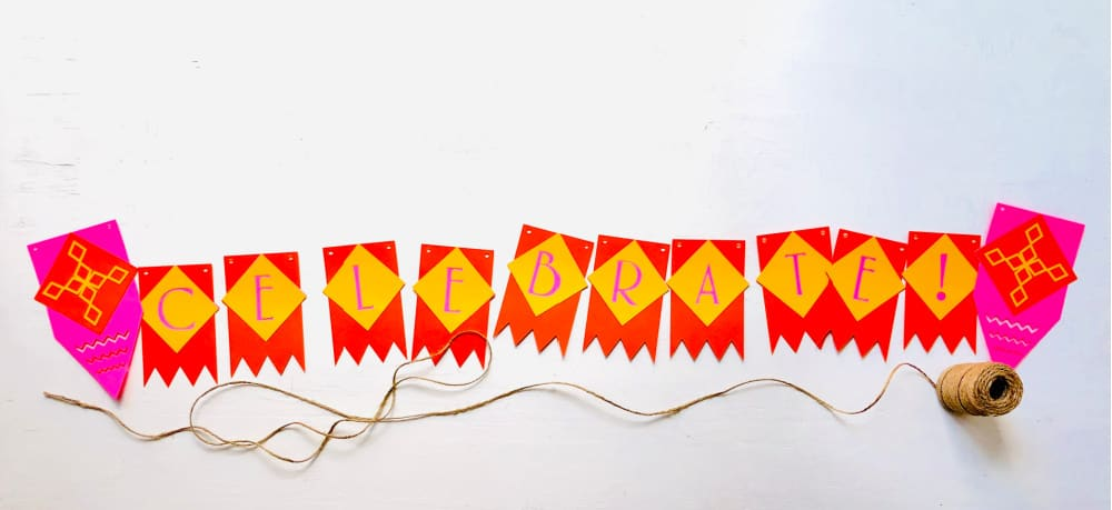 banner pieces